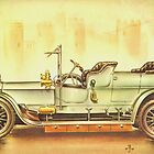 Old Cars Series #4 by Liza Barlow