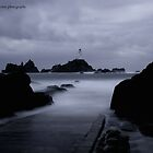 Corbiere before the rain by Gary Power