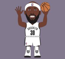 NBAToon of Reggie Evans, player of Brookln Nets by D4RK0