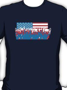 4th July Flag Celebrations T-Shirt