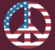 4th July Peace by CarbonClothing