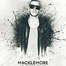 Macklemore Paint Splatter - Iphone Case by SeanKernerman