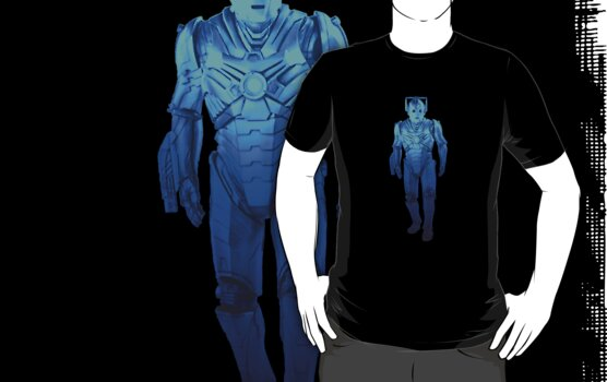 Cyberman Blue 2013 by Marjuned