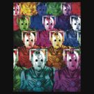 Multi-Coloured Cyberman Army 2013 by Marjuned