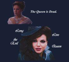 The Queen is Dead (dark) T-Shirt