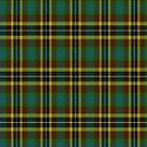 02337 Santa Clara County, California District Tartan Fabric Print Iphone Case by Detnecs2013
