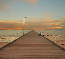 On The Pier - Mark Cooper Photography by Mark Cooper