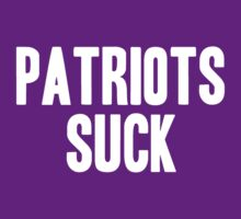Baltimore Ravens - Patriots suck by MOHAWK99