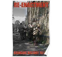VE Day Re-enactment Poster Poster