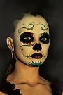 Sugar Skull - Day Of The Dead Face Paint by Liam Liberty