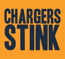 Denver Broncos - Chargers Stink - Blue by MOHAWK99