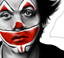 Sad Clown Sticker