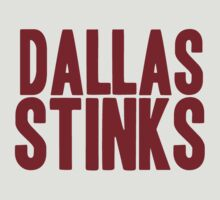 Washington Redskins - Dallas stinks - red by MOHAWK99