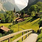 Lauterbrunnen, Switzerland by Emily McAuliffe