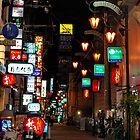 Streets of Japan by Night by Emily McAuliffe