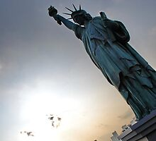 Odaiba's Statue of Liberty, Japan by Emily McAuliffe