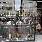 Shop Window, Tel Aviv by Carol Singer