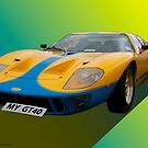 Iconic GT40 by David J Knight