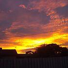 Dawn sky by AmandaWitt