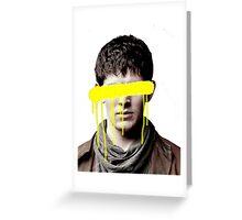 The Blind Sorcerer Greeting Card