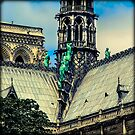 Notre Dame Impression 3 by All-in-Square