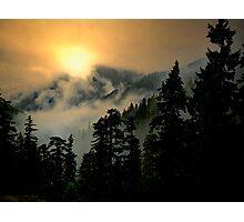 Wow, Wow, Bang, Bang ~ Buck Mountain Photographic Print