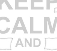 Keep Calm And Watch Lesbians Sticker