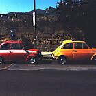 Fiat & Abarth 500s by Arran Cross