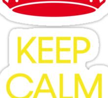 keep calm and listen to Bob  Sticker