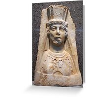 The Bust of Aphrodite Greeting Card
