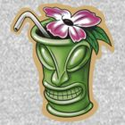 Tiki Flower God Drink by davidkyte