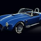 Shelby Cobra 427 Blue by Marc Orphanos
