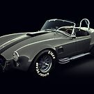 Shelby Cobra 427 Grey with Black Stripe by Marc Orphanos