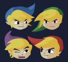 Legend of Zelda Four Swords by Lisa Fieldsend