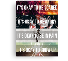 It's Okay - MCR Canvas Print