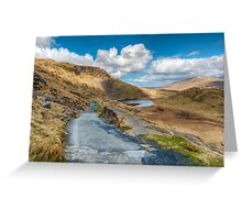 Lake Path Greeting Card
