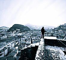 Salzburg City by Fabian Lackner