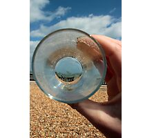 A Clear Half Pint Photographic Print