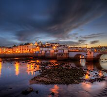 Tavira At Night by manateevoyager