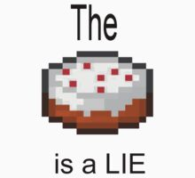 The cake is a lie by DoggyStomper