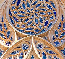 Rosácea. Rose window. Batalha Monastery. by terezadelpilar~ art & architecture