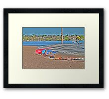 Waiting to Launch Framed Print
