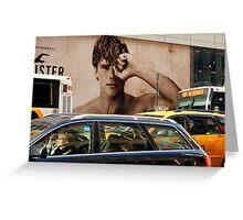 Early Morning Manhattan  (5th. Avenue)  Greeting Card