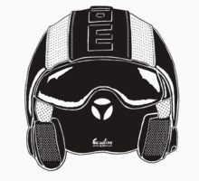 Momo Helmet Illustration by GASOLINE DESIGN