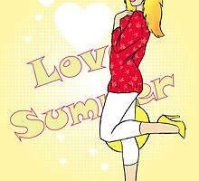Love Summer by CatAstrophe