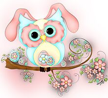 Little Miss Easter Hooty by Concetta Kilmer