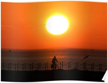 Herne Bay Sunset by Jack  Castle