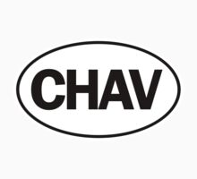 CHAV - Oval Identity Sign by Ovals
