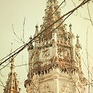 golden memory . jernimos towers by tereza del pilar