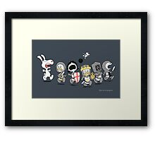 Run Away! Run Away!  Framed Print